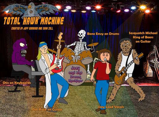 Total Hawk Machine Band TV Concept