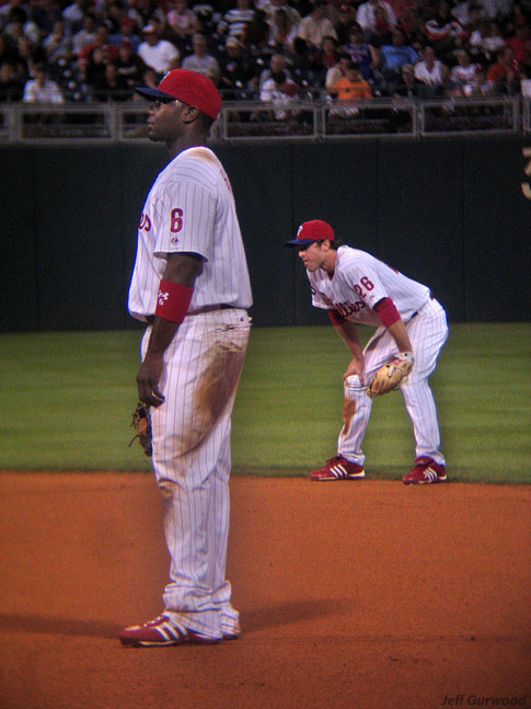 Philly Sports Howard and Utley (30) 2007