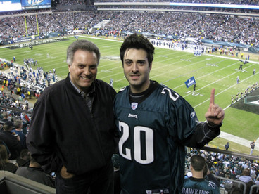 Eagles Game in Philly 2008