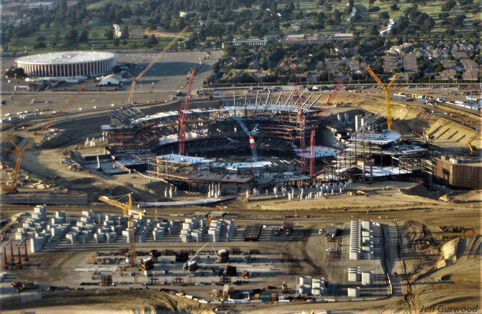 Aerial Photography (57) SoFi Stadium LA 2018