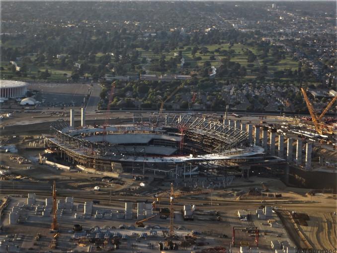 Aerial Photography (28) SoFi Stadium LA 2018