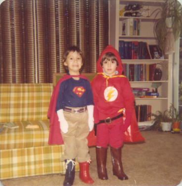Matthew & Jeffrey Costume Mismatch