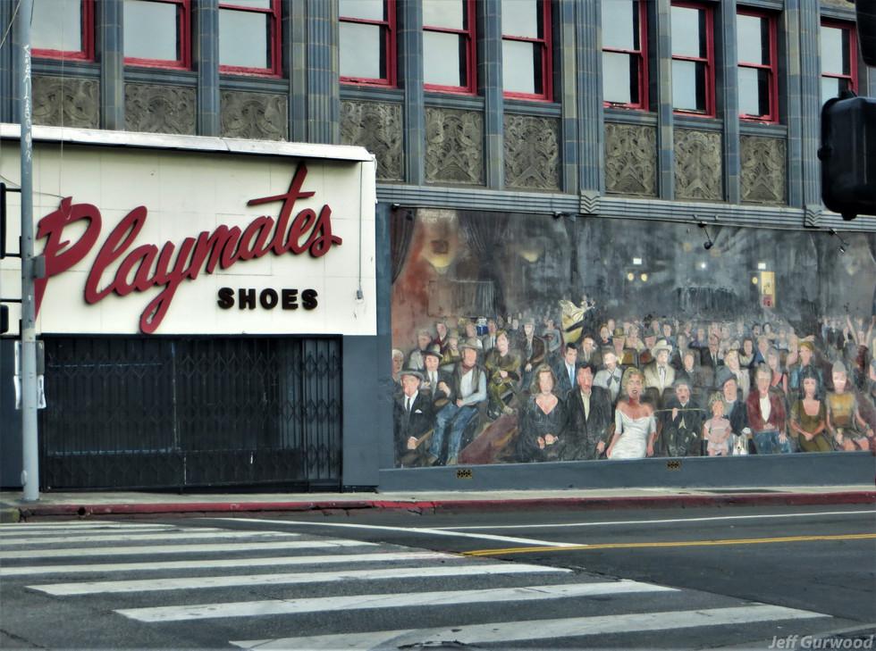 Hollywood Quarantine 3-31-20 Mural