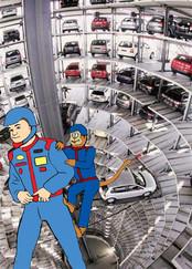 Jays Garage TV concept art