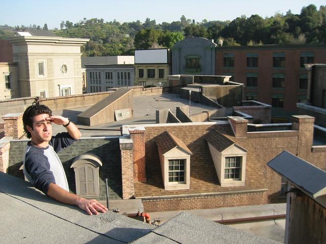 NYC street Universal Backlot 2002 roof