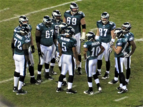 Philly Sports Eagles offense 2008