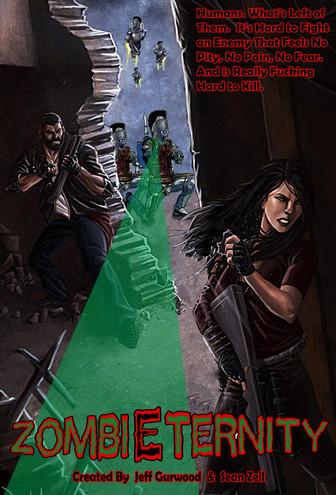 Zombieternity Cave Attack TV Concept art Internet sourced