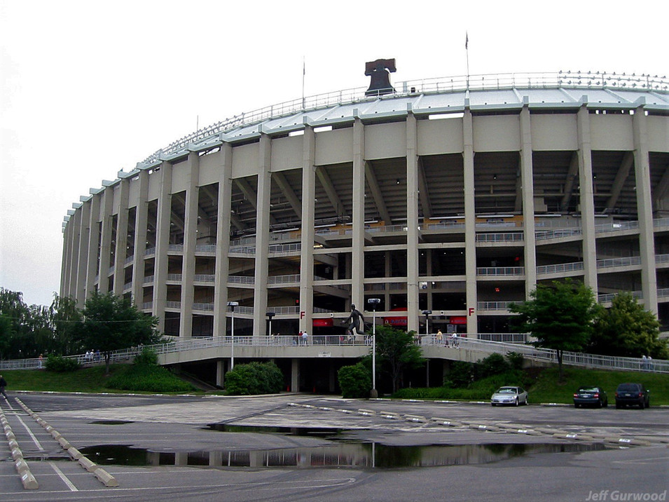 Philly Sports Veterans Stadium 2003
