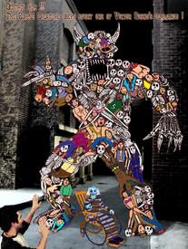 The Home Corpse Creature movie concept art