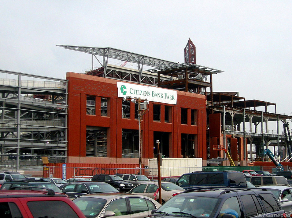 Philly Sports Citizen Bank Park Construction 2003