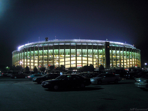 Philly Sports The Vet at Night 2003