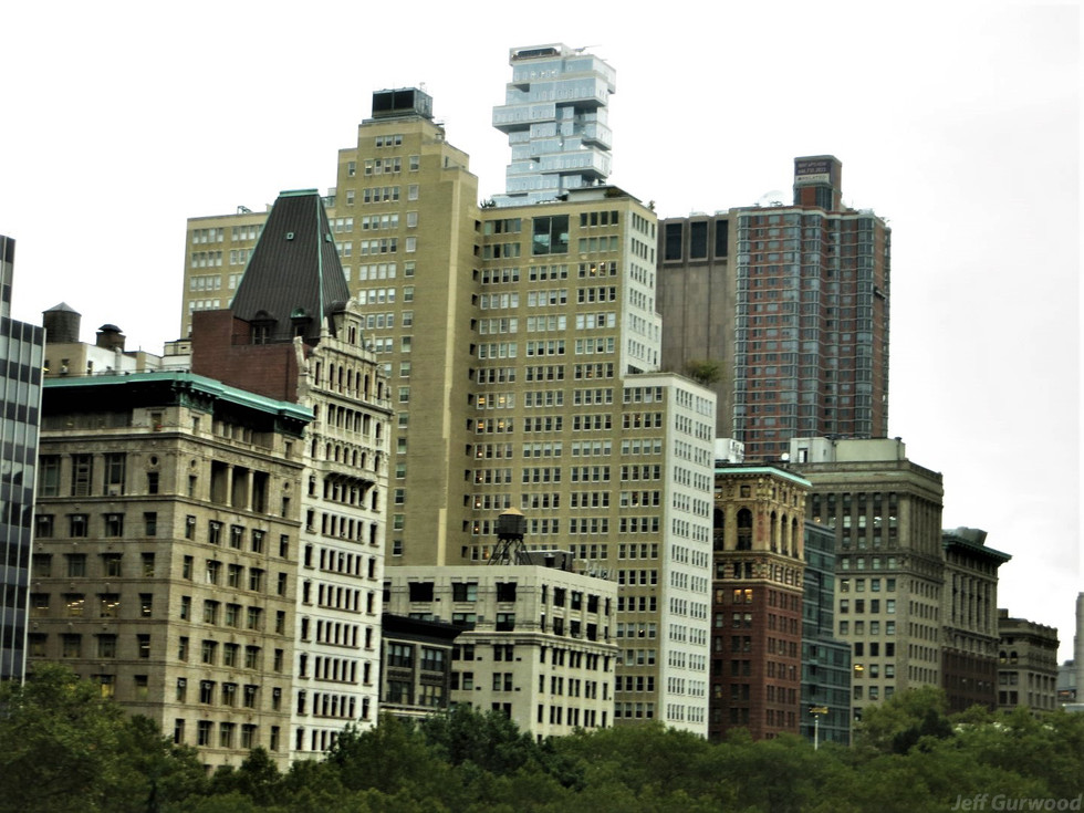New York buildings 2016