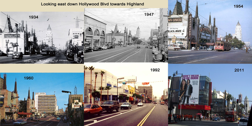 East Down Hollywood 1934 - 2011