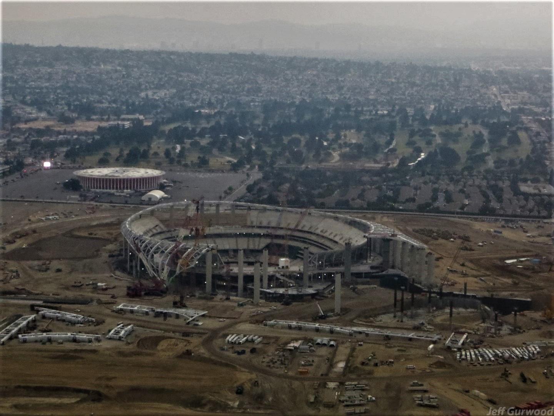Aerial Photography (63) SoFi Stadium LA 2019