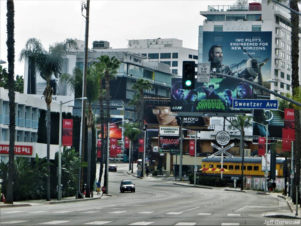 Hollywood Quarantine 3-31-20 Sunset Strip