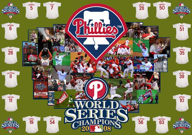 Phillies World Series Banner
