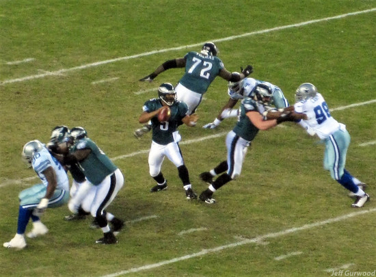 Philly Sports Donovan McNabb Eagles game 2008