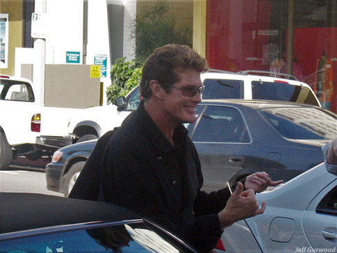 David Hasselhoff Ivy 2005