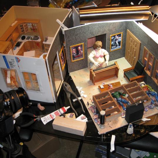 Last Randy Standing animation shoot 2008 19