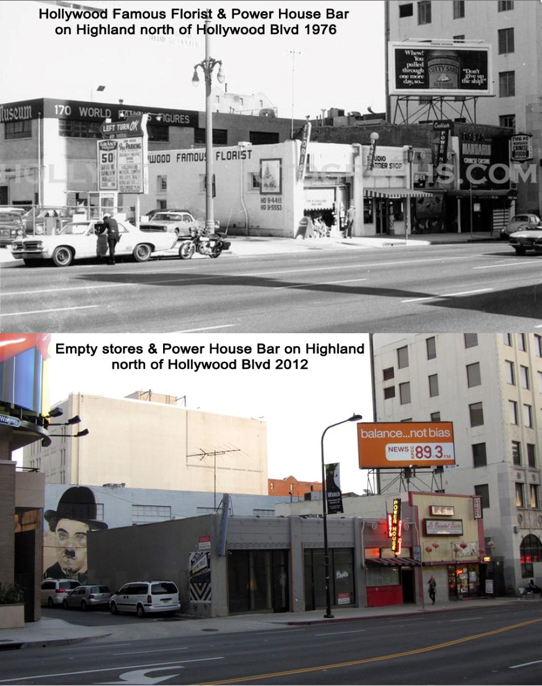 Power House Bar on Highland 1976 & 2012