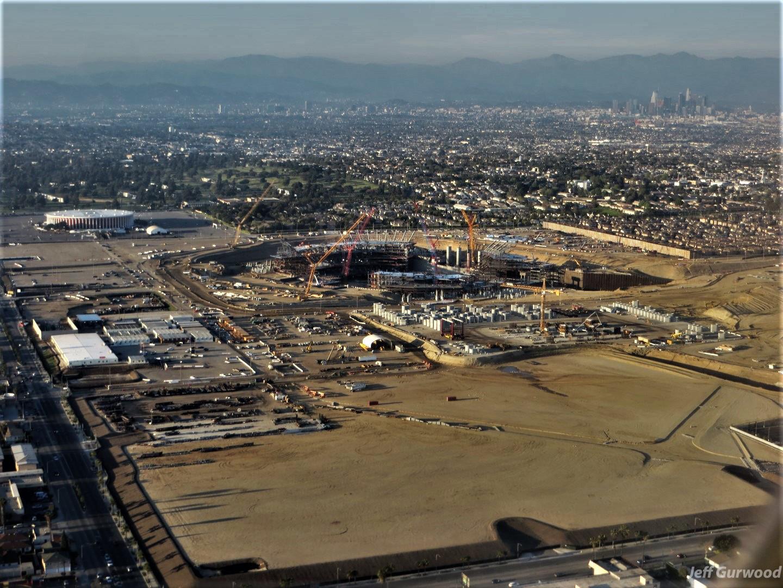Aerial Photography (59) SoFi Stadium LA 2018