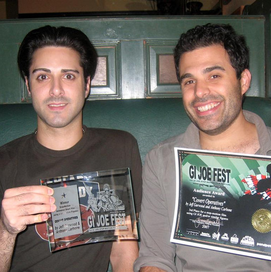 Jeff Gurwood & Anthony Carbone  Winners