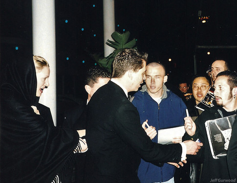 Uma Thurman Oscar night 1999
