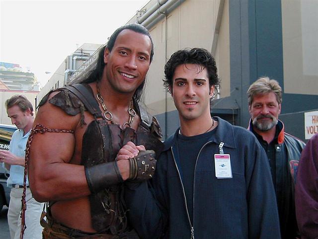 The Scorpion King! Universal Back lot 2002