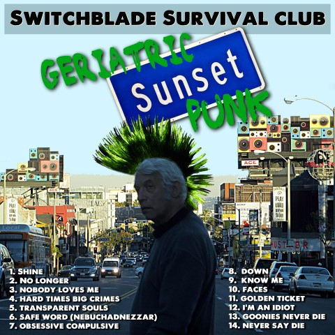 2013 Geriatric Sunset Punk cover