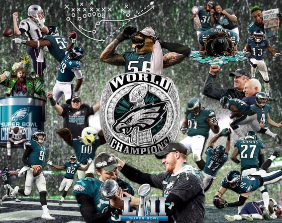Eagles Super bowl banner