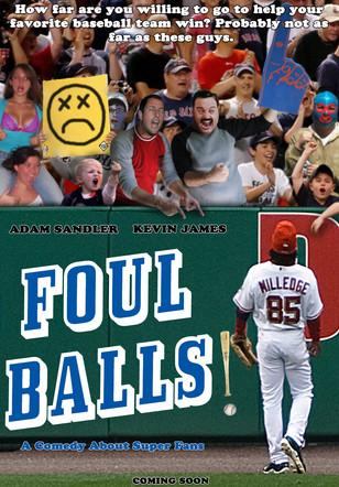 Foul Balls movie concept art