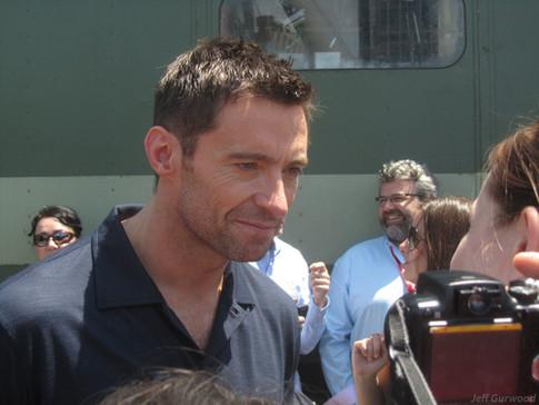 Hugh Jackman Comiccon 2011