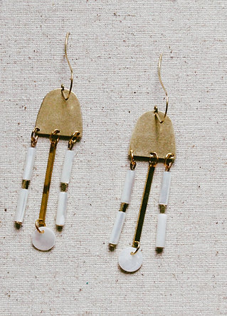 Mazu Statement Earrings