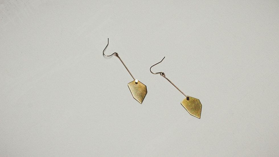 Moku Geometric Drop Earrings
