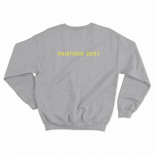 "PANTONE 2021 ""WRITE YOUR CAPTION"" SWEATSHIRT"
