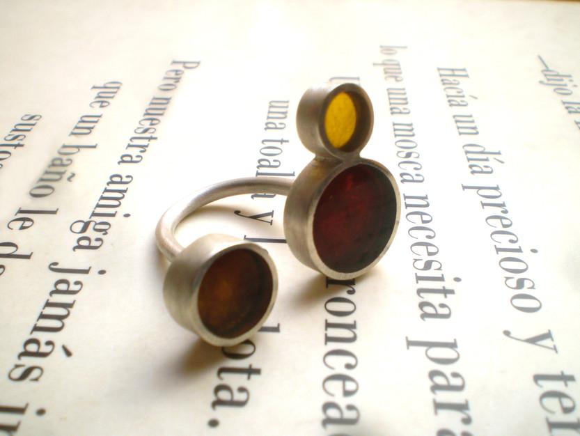 anillo dots 15