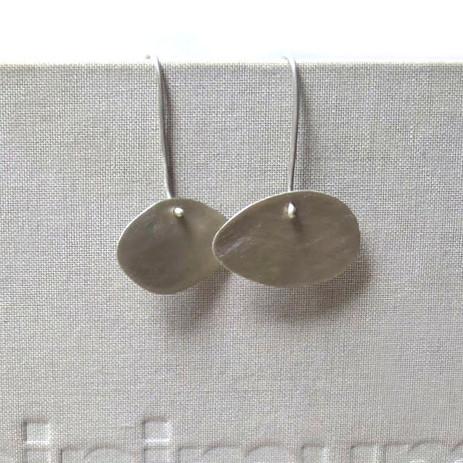 contemporary irregular asymmetric earrings