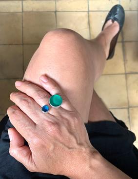 anillo dots 25