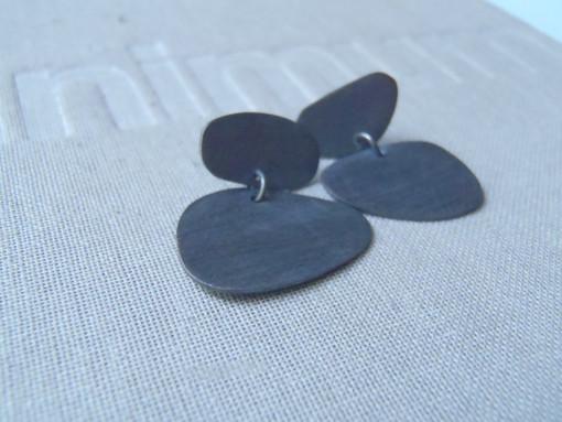 blued frida earrings