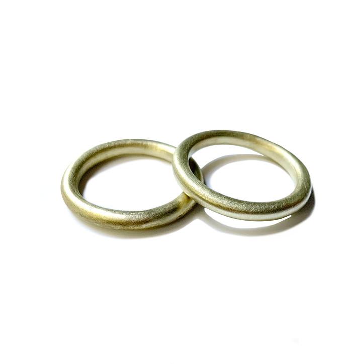 anillos dona en latón