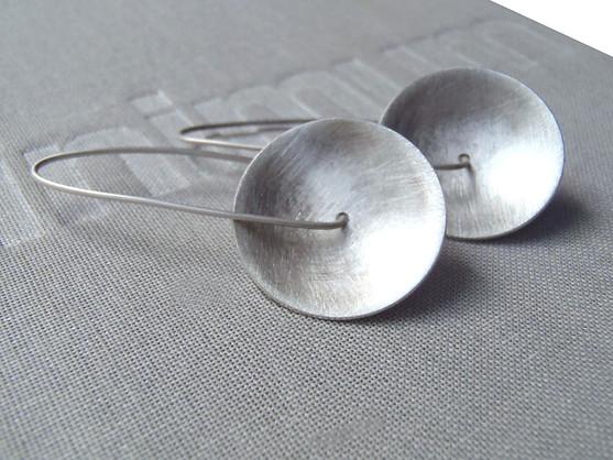 concave hook earrings