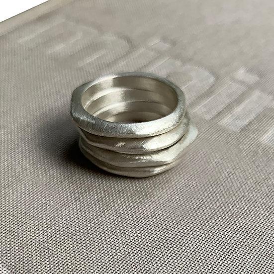 Set d'anelli  sottili impilabili!