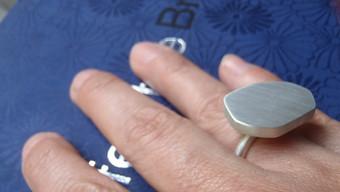 anillo heptágono