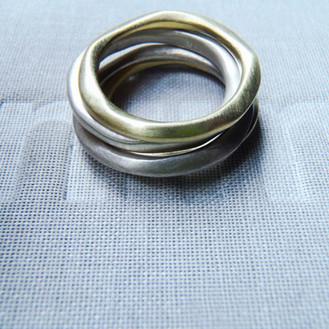 anillos orgánicos apilables
