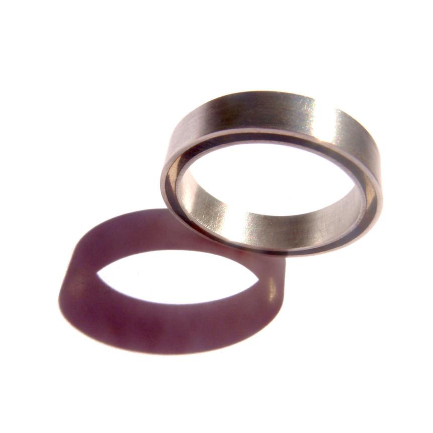 anillo concéntrico claro