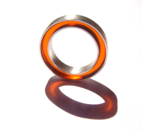 anillo concéntrico mandarina