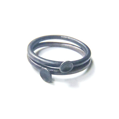 blued micro-concave rings