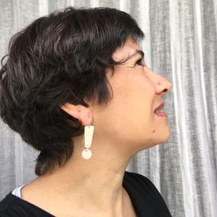 exclamation earrings