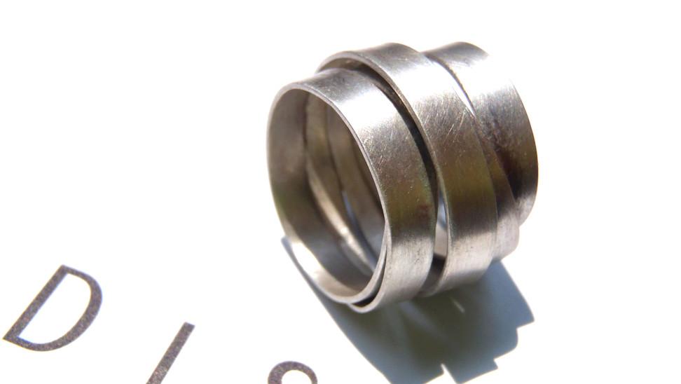 anillo infinito mate