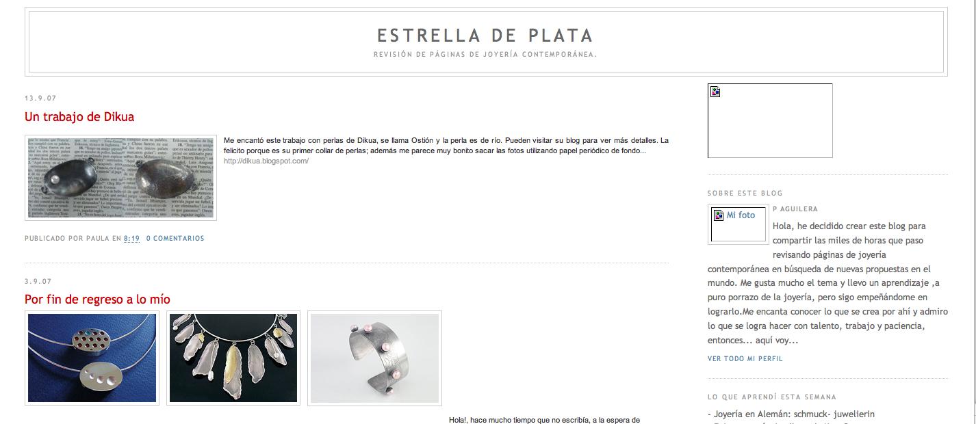 estrella de plata blog